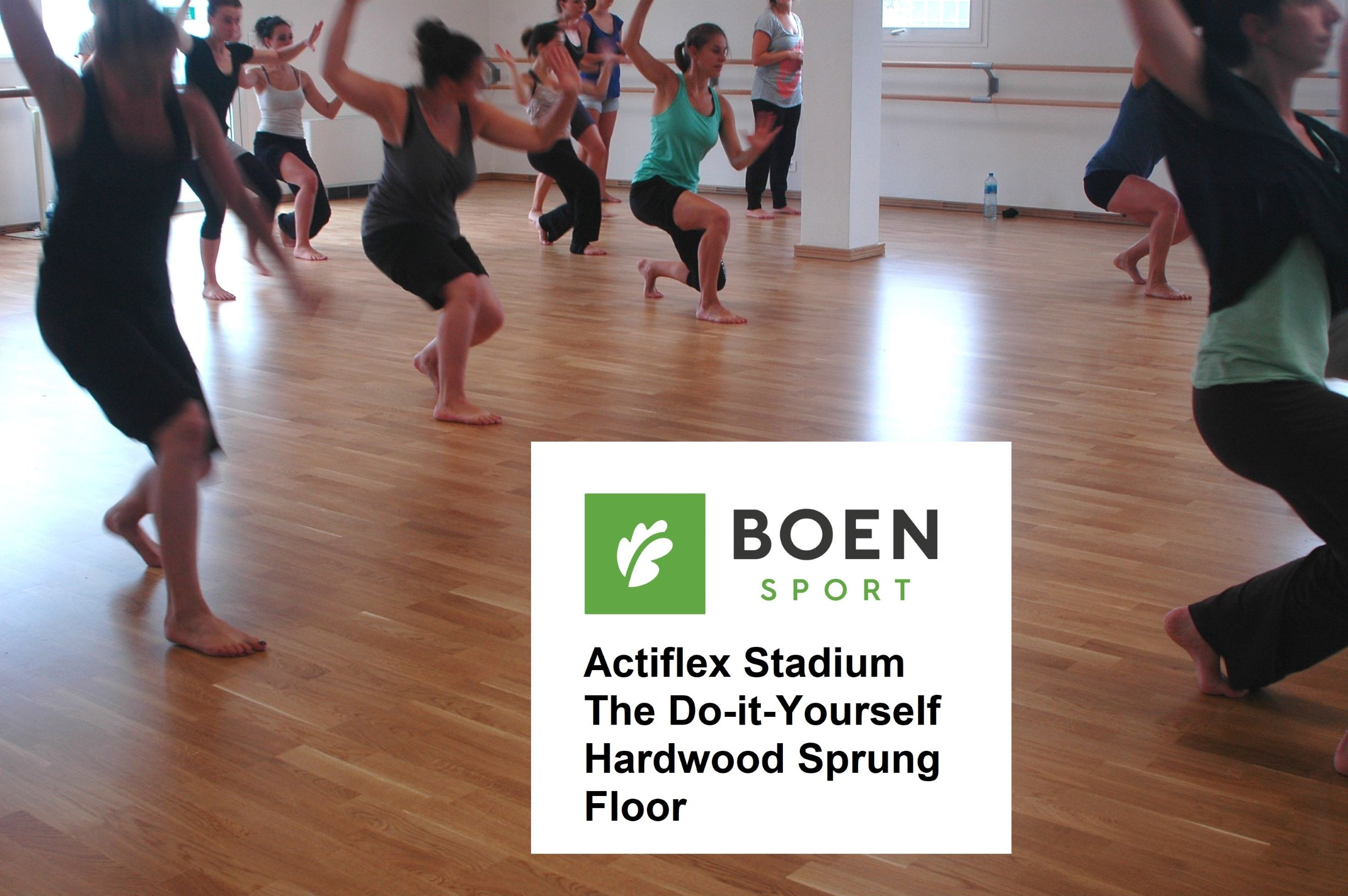 Boen Actiflex Dance Floor - Click for Information