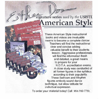 NDTA Presents - Esther Don American Style - Signature Series