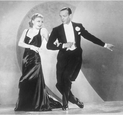 Fred Astaire & Ginger Rogers - American Smooth Foxtrot - 417 X 393