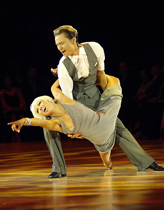 International Rumba - Andre & Natalie Paramonov, 5-Time Canadian National Champions & US National Latin American Show Dance Champions