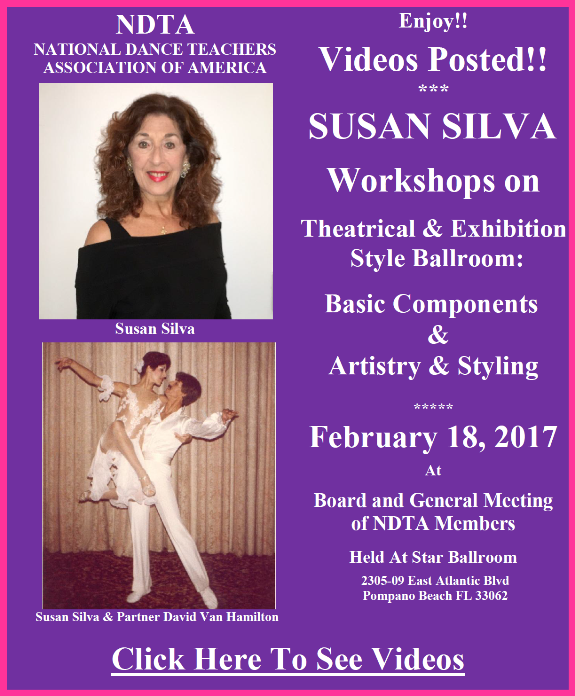 Videos Posted - Susan Silva Workshops - February 18, 2017