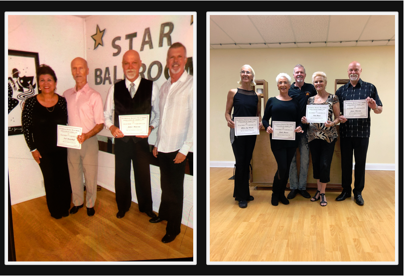 5 New Teachers Certificated Awarded in Bronze American Smooth - June, 2019